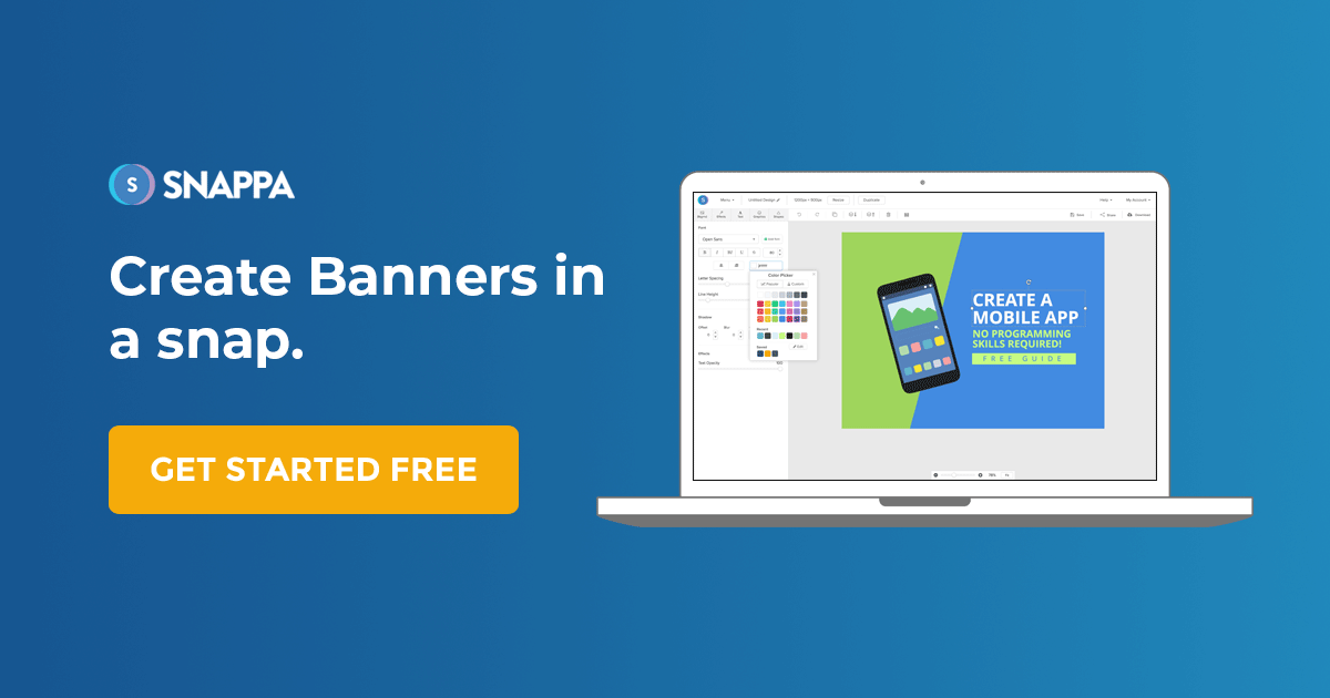 Online Banner Maker - Free & Easy to Use | Snappa